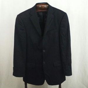 Perry Ellis Portfolio sport coat 38R Black wool
